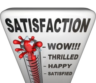 satisfação